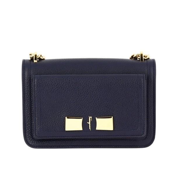 Salvatore Ferragamo women bag shoulder bag blue