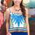Unique Print Crop Top | uoionline.com: Women's Clothing Boutique