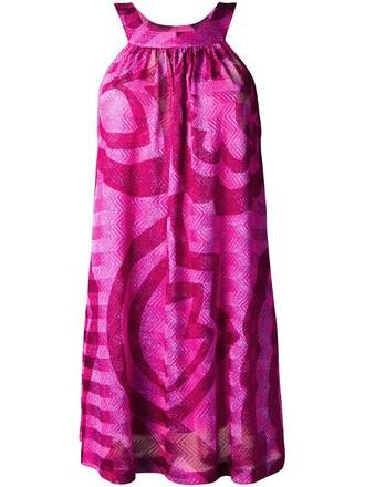 dress short dress short purple pink