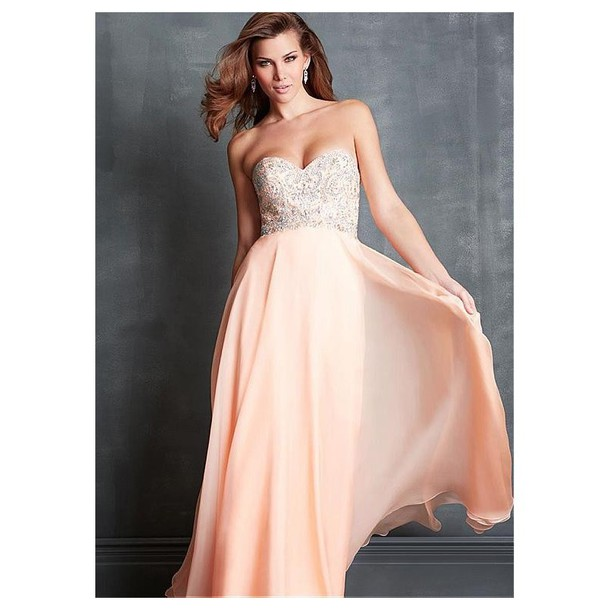 dress chiffon a line prom gowns evening dress