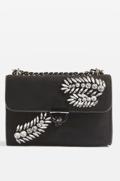 Topshop cross bag black