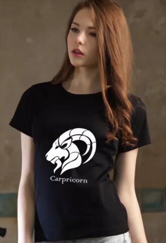 top zodiac sign top zodiac sign tshirt black top crop tops horoscope zodiac zodiac sign t-shirt dress women t shirts women tshirts