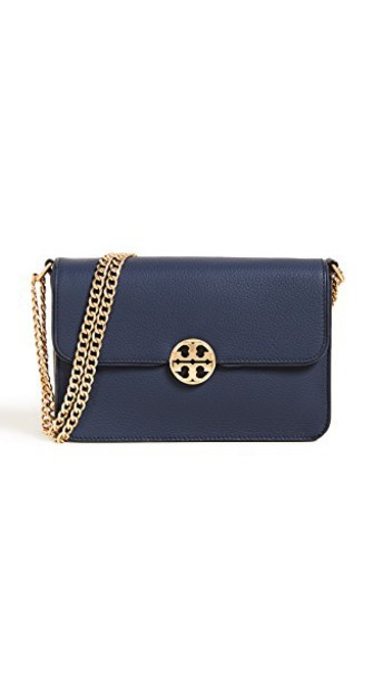 Tory Burch cross mini bag navy