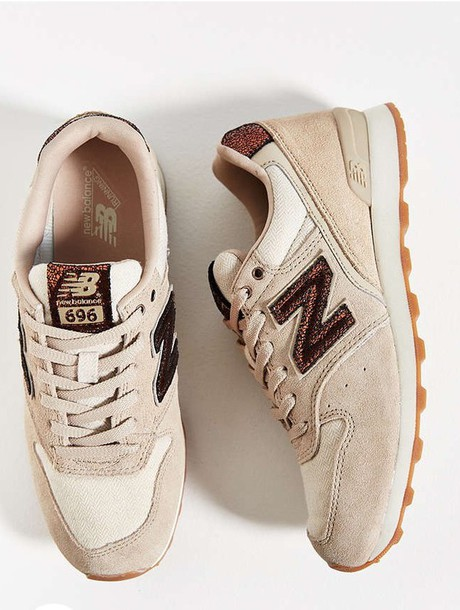 shoes, new balance, nude sneakers