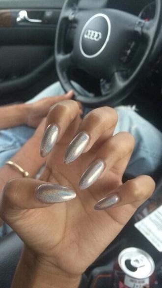 nail polish nails nail art nail accessories holographic baddies black girls killin it