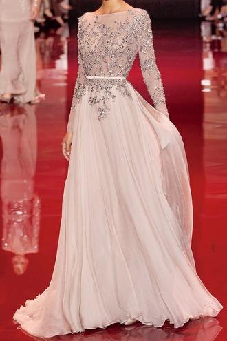 white dress prom dress golden detail