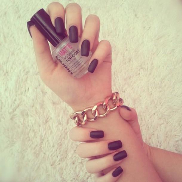 nail polish, matte, top coat, no shine, clear - Wheretoget