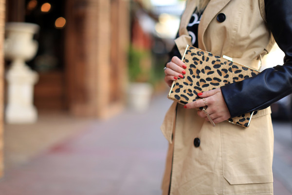 coat romwe khaki trench coat bag