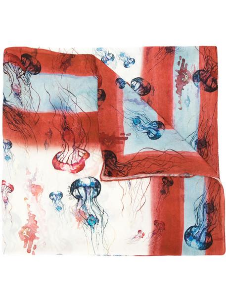 Olympiah printed scarf women jellyfish scarf
