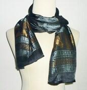 scarf,elephant scarf,black scarf,long scarf,scarf gift,shawl,chritmas gift ideas,gift ideas,gift for father