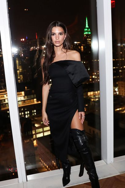 dress, strapless, emily ratajkowski, model