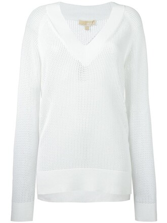 sweatshirt women white sweater