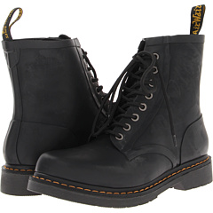 Dr. Martens Drench 8-Eye Boot Matt Black Vulcanised Rubber - Zappos.com Free Shipping BOTH Ways