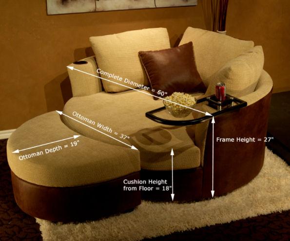 Cuddle Couch - Stargate Cinema