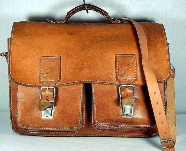 Old fashion school bag 36