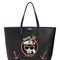 Captain karl faux leather tote bag