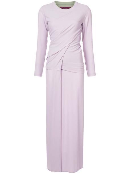 SIES MARJAN dress women purple pink