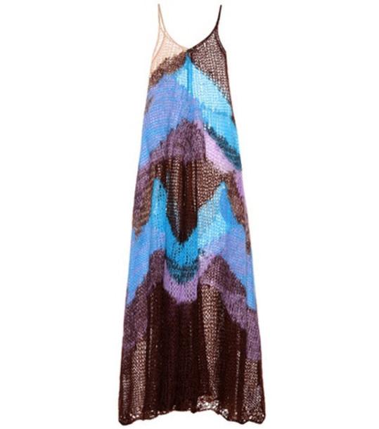 Jil Sander Mohair-blend dress