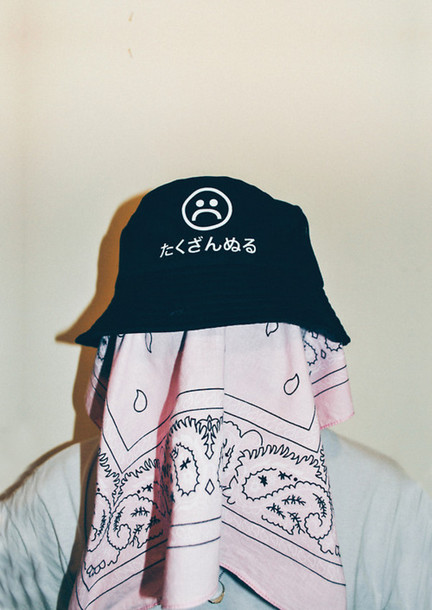 bc79b0d311b hat trill sad boys tumblr bucket hat mens accessories