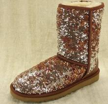 brown sequin ugg boots