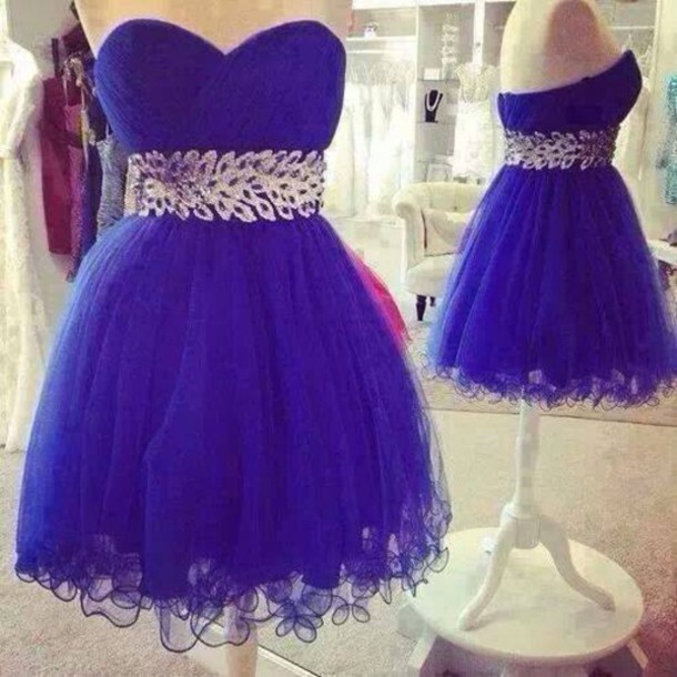 dress purple dress prom short blue prom dress blue dress