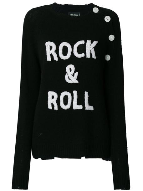 Zadig & Voltaire jumper women black sweater