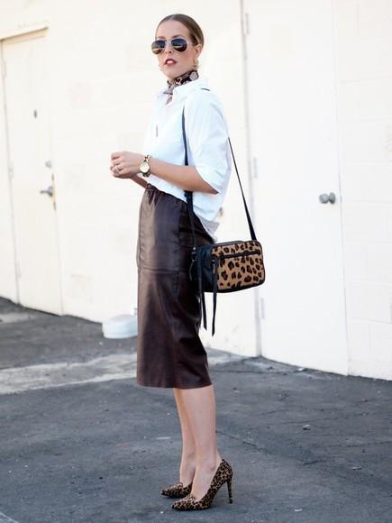 scarf blogger bag b. jones style jewels sunglasses