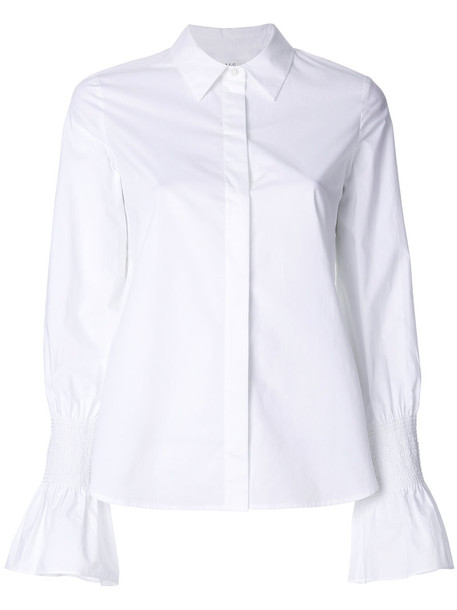 A.L.C. shirt women white cotton top