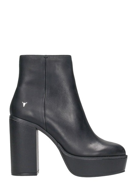 Windsor Smith leather ankle boots ankle boots leather black black leather shoes
