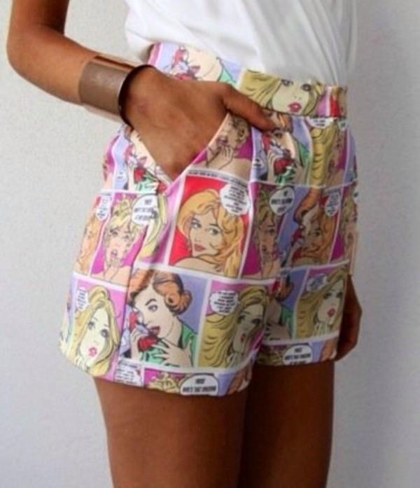 shorts clothes comics comicclothing