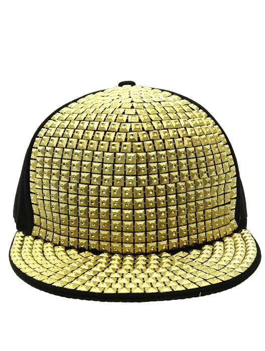 Studded snapback cap ii