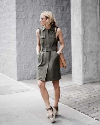 happily grey blogger dress bag shoes