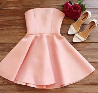 dress pink dress pink prom dress nude pink classy nude dress homecoming dress pink baby pink dress short dress summer dress party dress date dress date outfit