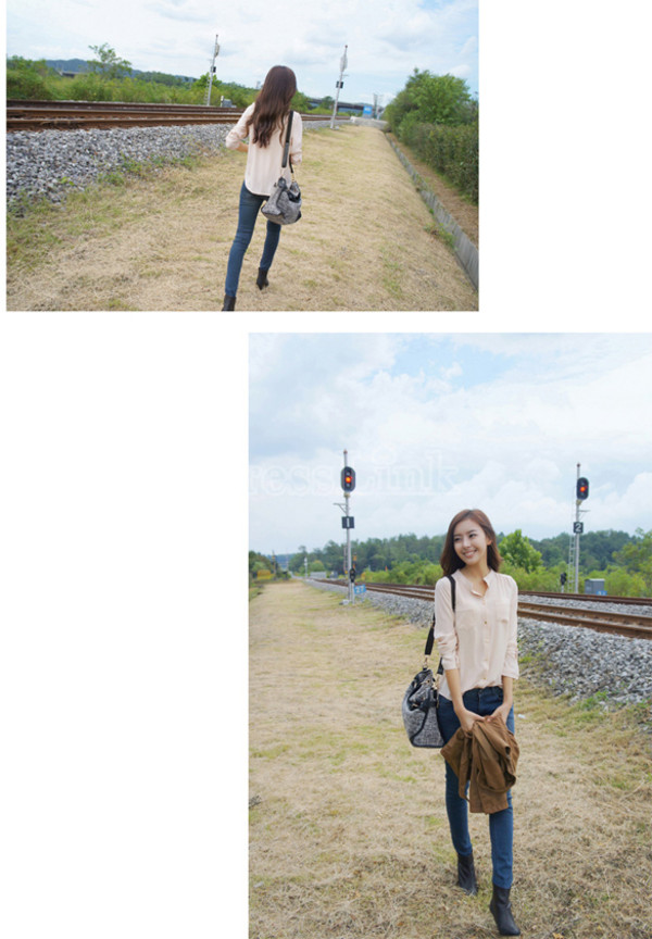blouse korean fashion sweets