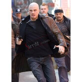 jacket movie coat death sentence billy darley garrett hedlund leather coat fashion menswear uk american flag canada