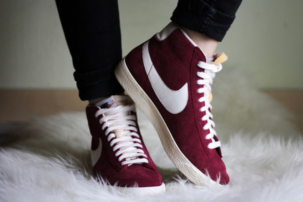 nike burgundy burgundy shoes red shoes shoes
