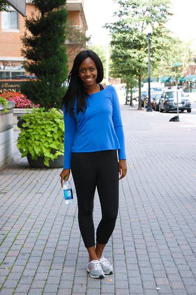 blogger sneakers sportswear alicia tenise top