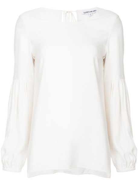 Elizabeth and James jumper women white sweater