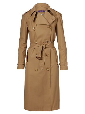Sinclair Cotton Trench Coat