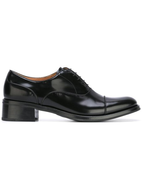 Church's women shoes lace-up shoes lace leather black