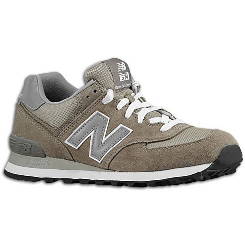 New Balance 574 - Women's - Running - Shoes - Grey/Silver
