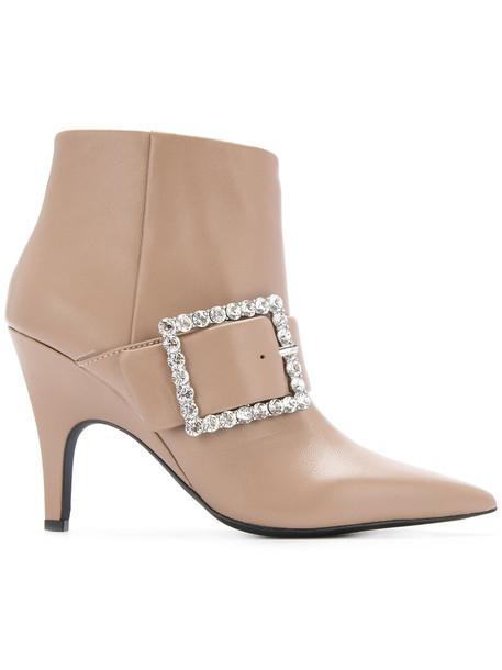 Senso women leather brown shoes