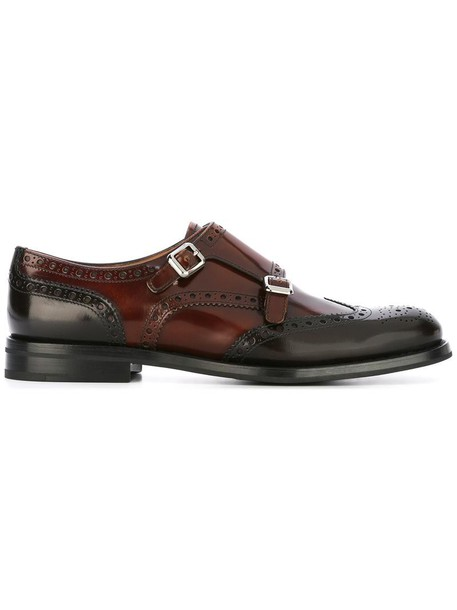 Church's women shoes leather brown