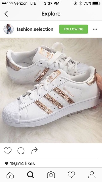 shoes adidas gold adidas superstars