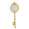 Hand mirror key shaped