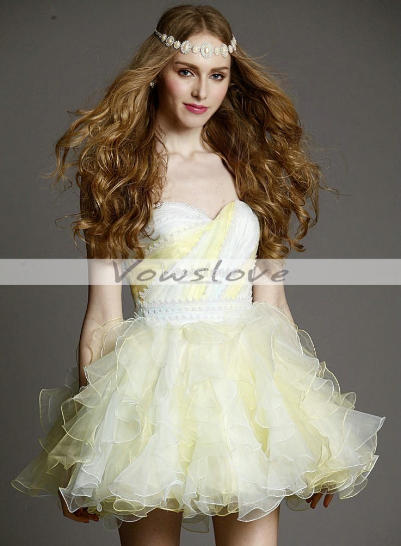 Beautiful a line sweetheart sleeveless and backless layered tulle skirt prom dress vowslove.com