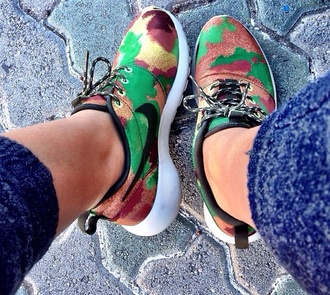 shoes nike running shoes camouflage