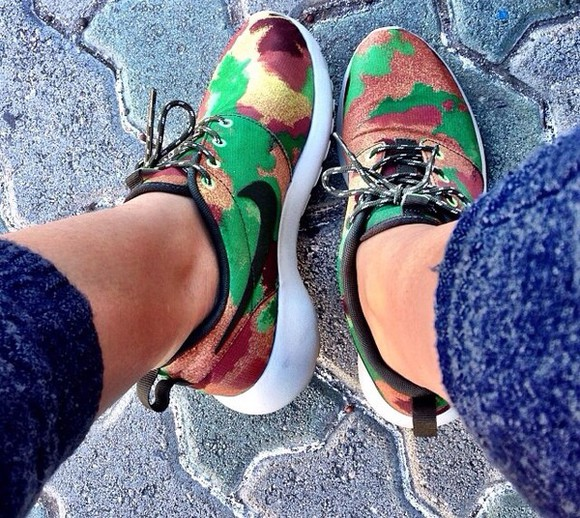 shoes camouflage nike running shoes