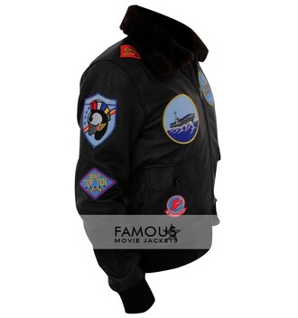 jacket tom cruise tom cruise leather jacket famous movie jackets top gun top gun jacket top gun costume