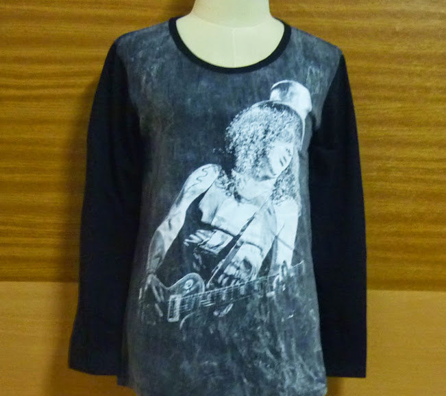 Shirt hard rock heavy metal black shirt long sleeve stone tee rock tee heavy crew neck s m l xl